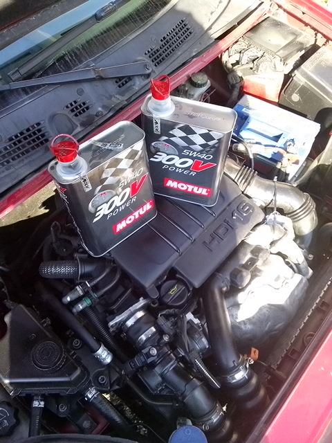 motul power 5W-40